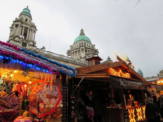 Cool things to do in Belfast: Belfast Christmas Market