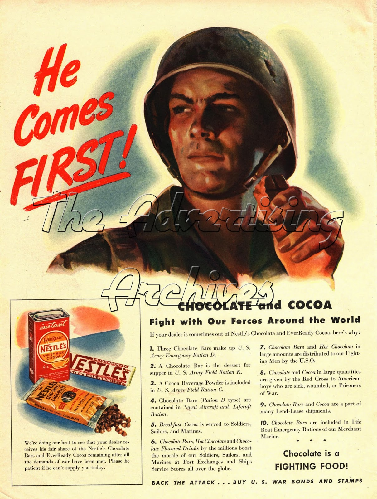 The Advertising Archives: 1940s Culinary Delights