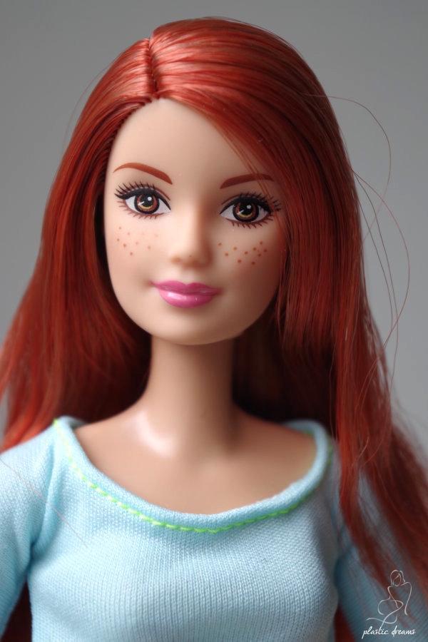 barbie fitness top bleu clair