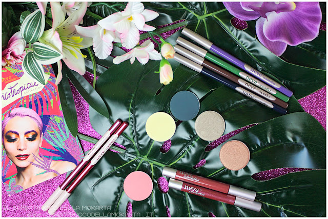 psicotropical collection neve cosmetics swtches