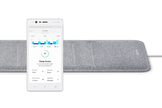 Nokia  Announced New Gadget At CES called Nokia Sleep