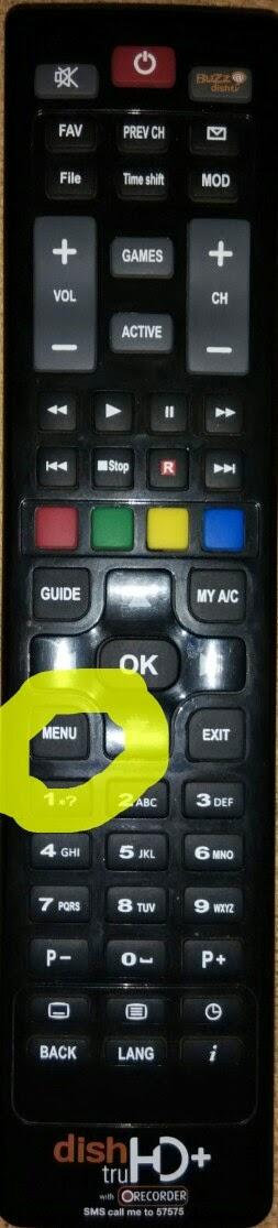 dish tv epg updating problem