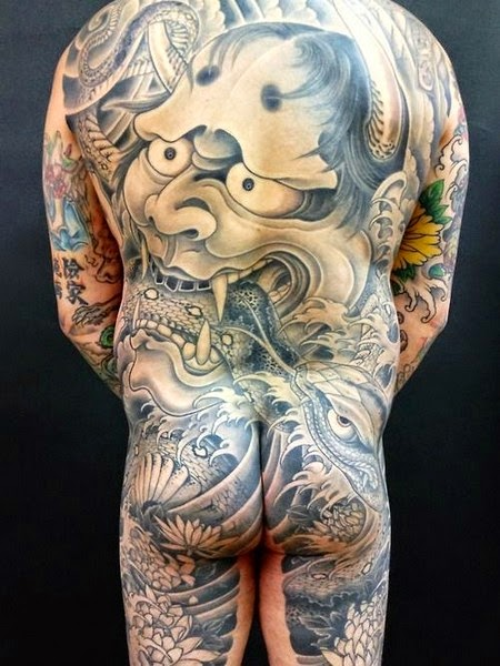 japanese hannya mask tattoos tattoo designs picture gallery