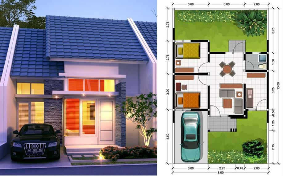 rumah%2Btype%2B45 - Berikut Tipe Rumah yang Ada di Indonesia Beserta Kisaran Harganya