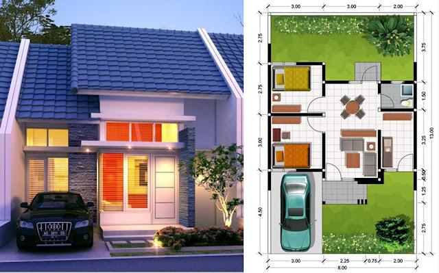 Rumah Type 45: Pengertian, Denah, Harga