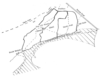 Plan of Top o'th' Knotts, Hoyle's Fold and Old Neds