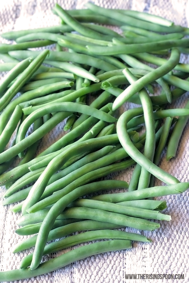 Best Green Bean Recipe: Balsamic Oven-Roasted Green Beans