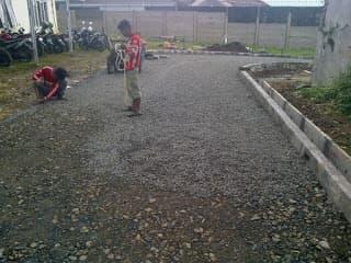pengaspalan jalan Bogor