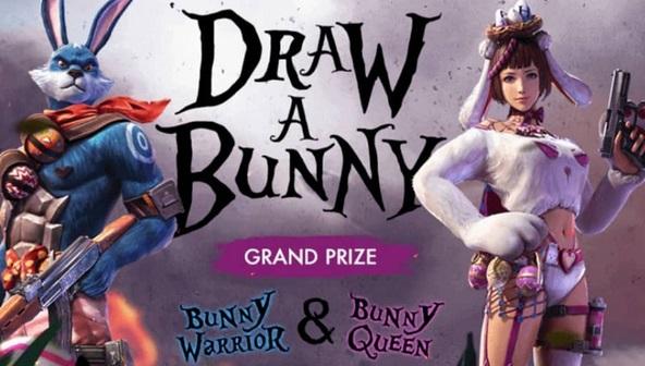 Cara Ikut Serta dan Gambar Event Draw A Bunny Free Fire (FF) Terbaru 2019