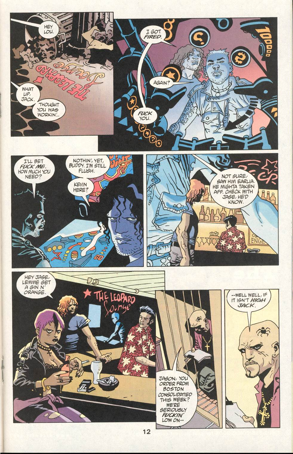 Read online 100 Bullets comic -  Issue #21 - 13