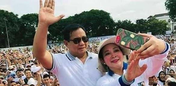 Pendukung Yakin Prabowo-Titiek Soeharto Rujuk, Indonesia Lebih Sejuk