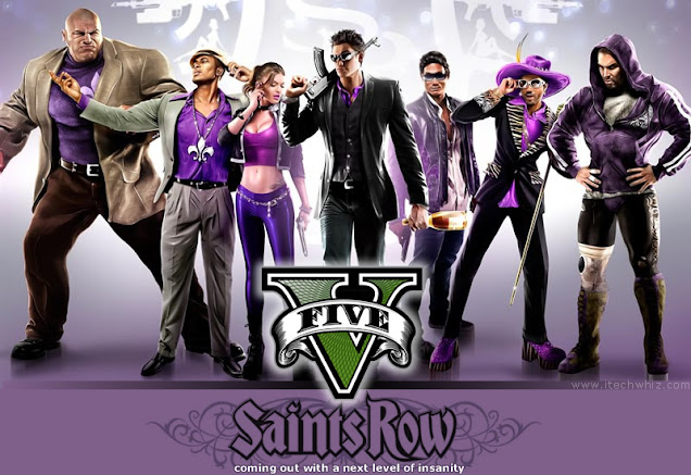 SRV Saint Row 5 Release Date, Trailor, Gameplay and News Updates