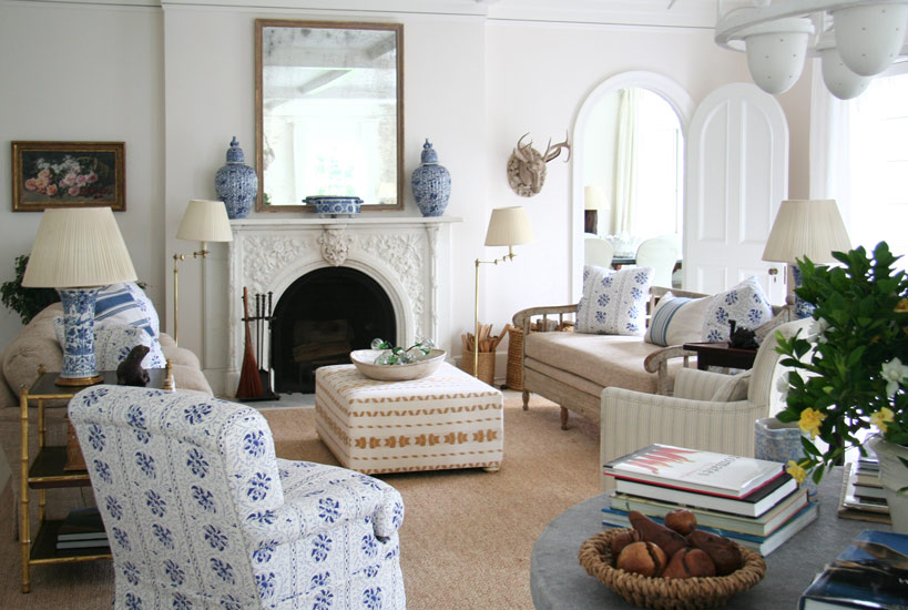 traditional decor inspiration blue and white in the