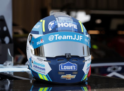 Jimmie Johnson to Wear the Blue Bunny Helmet of Hope at Kentucky
