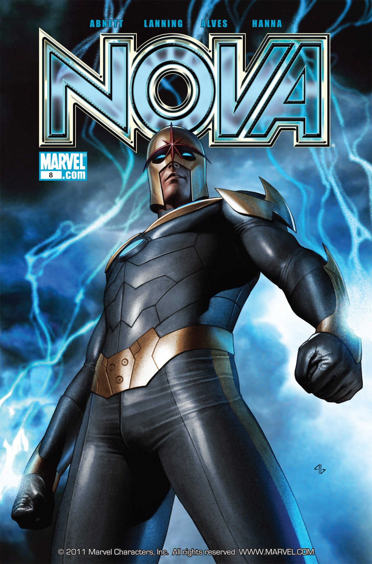 Nova (2007) issue 8 - Page 1
