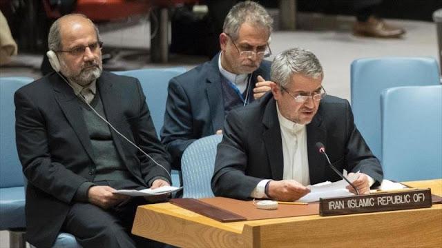 Irán pide enfrentar las amenazas de EEUU contra el orden mundial