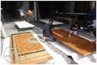 pembuatan pintu nabawi