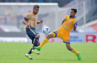 Pumas UNAM vs Tigres U.A.N.L  en Semifinales Apertura 2016