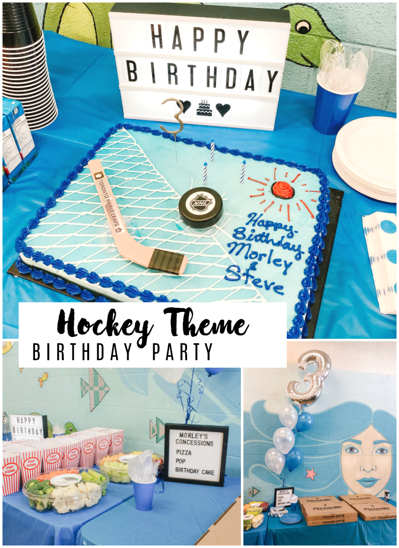 Hockey Theme Kids Birthday Party