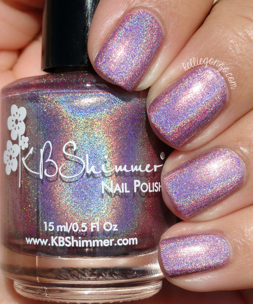 KBShimmer Peony Pincher