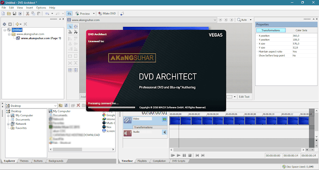 Download MAGIX Vegas DVD Architect Full Version Terbaru