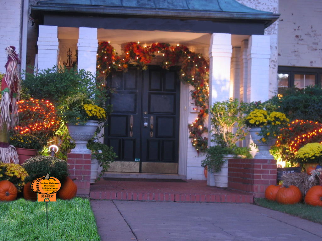 Design with....Panache!: Outdoor Decorating for Autumn