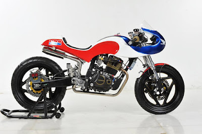 "Honda Tiger  ""Neo Classic Racer"" by Lunatic-Inc Jakarta"