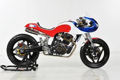 "Honda Tiger  ""Neo Classic Racer"" by Lunatic-Inc Jakarta"