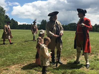 Reenactors Battle of Bushy Run
