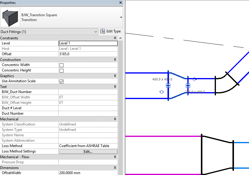 How To Fix A Revit Model When Duct and Pipe Fittings are