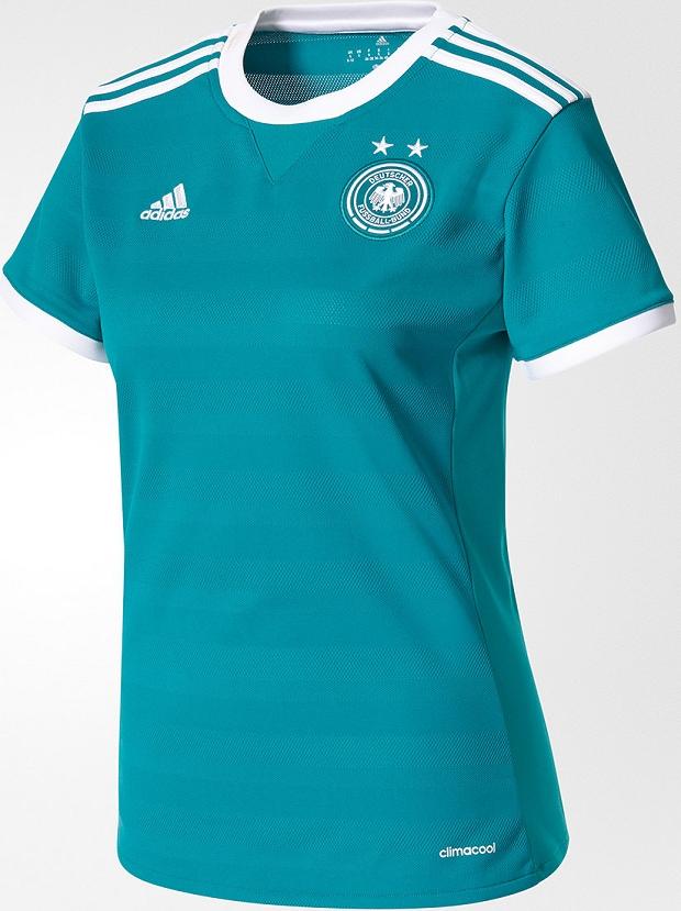 e7ec9a3394 Adidas lança as camisas da seleção feminina da Alemanha - Show de ...