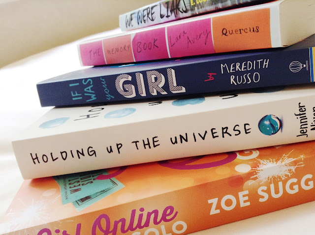 5 Recent Reads Stacked