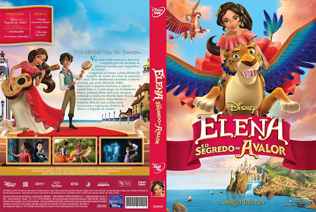 Capa DVD Elena e o Segredo de Avalor [Custom]
