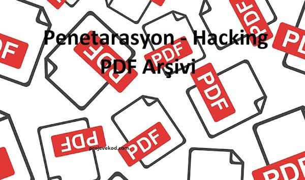Penetarasyon - Hacking PDF Arşivi
