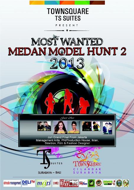 Most Wanted Medan Model Hunt 2 Tahun 2013