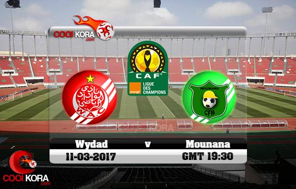 مشاهدة مباراة الوداد و مونانا اليوم 11-3-2017 دوري أبطال أفريقيا