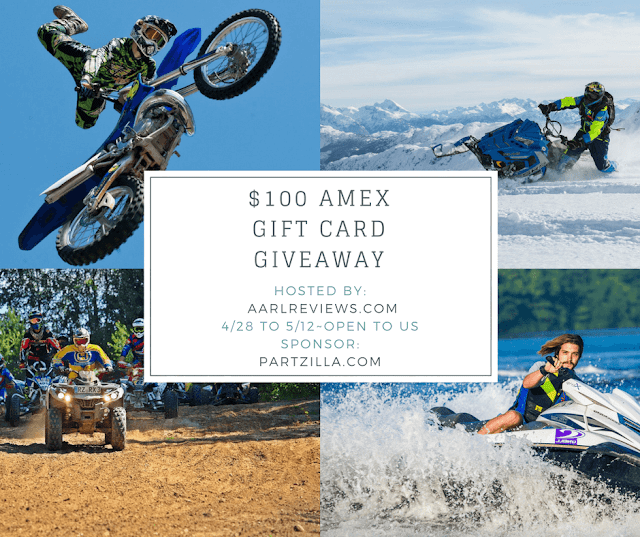 Partzilla OEM Parts $100 AMEX Gift Card Giveaway Ends 5/12