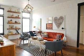 Sala pequeña decorada