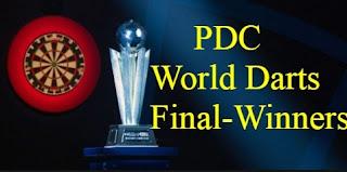 William Hill PDC World Darts Championship, Finals, Winners,Champions, prize money