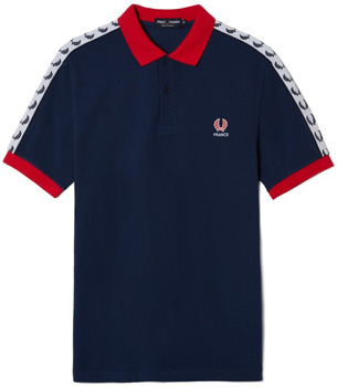 camiseta polo Francia Fred Perry Eurocopa 2016