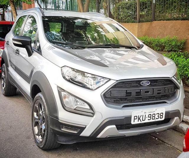 Nova Ford Ecosport Storm 4x4: fotos, informações e preço (estimativa)