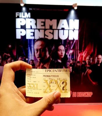 tiket bioskop preman pensiun