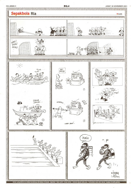 Sepakbola Ria EDISI JUM'AT, 30 NOVEMBER 2001