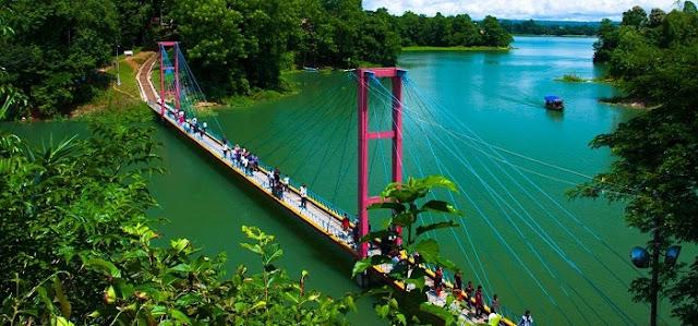 Rangamati - attractive natural tourist place in Bangladesh