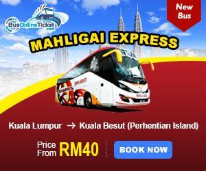 Tiket Bas Kuala Lumpur Kuala Besut