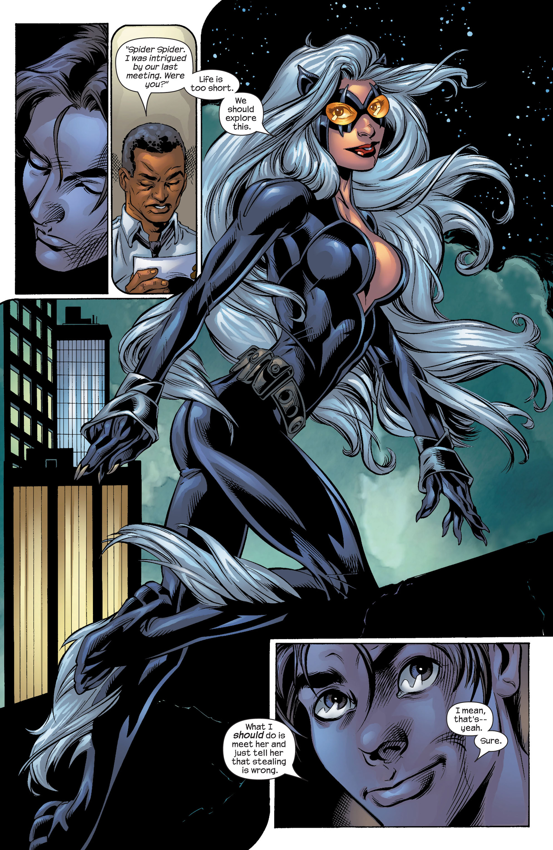 Read online Ultimate Spider-Man (2000) comic -  Issue #51 - 19