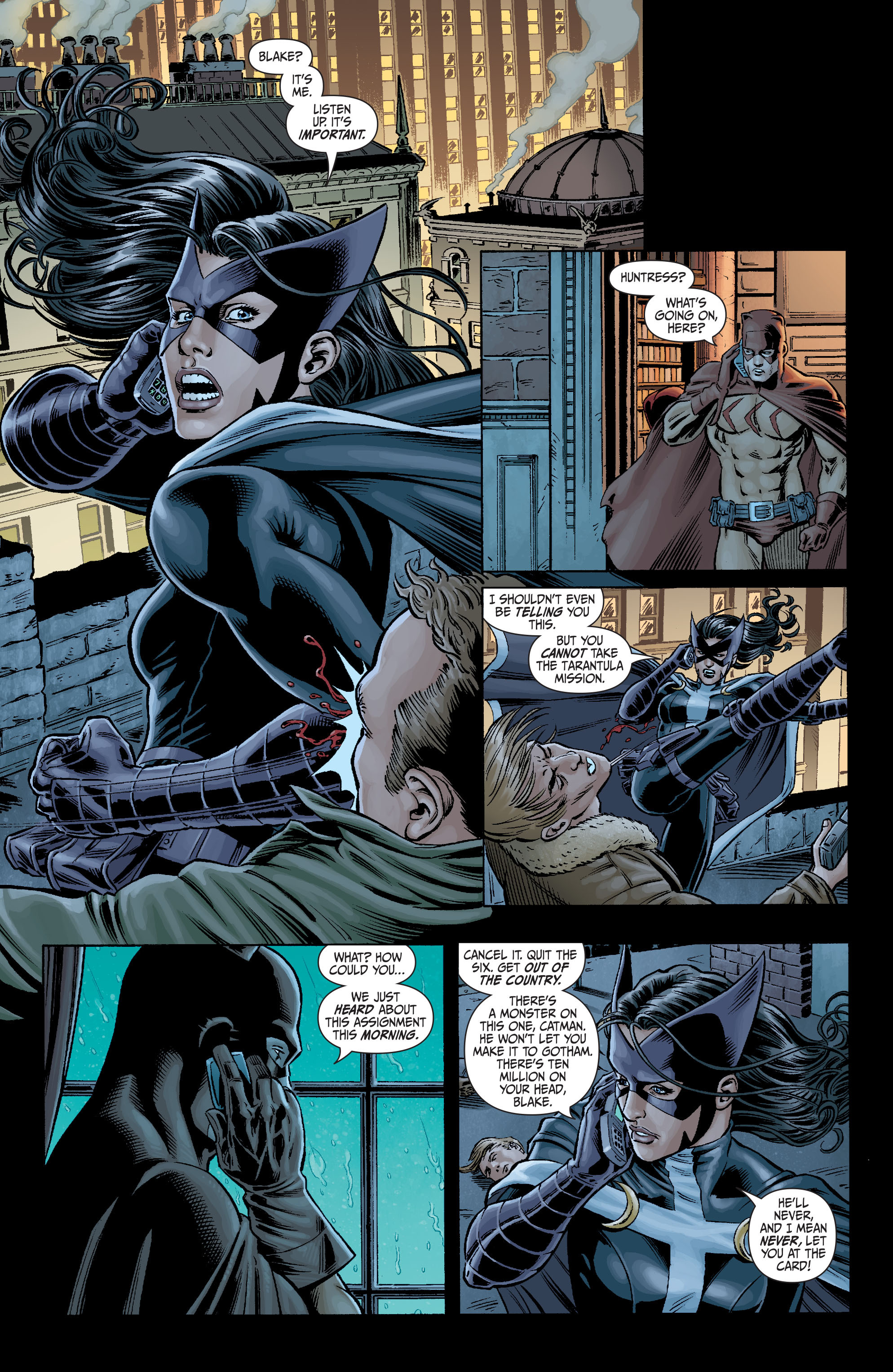 Read online Secret Six (2008) comic -  Issue #1 - 22