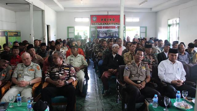 Dandim 0106 Ateng-Bm Sosialisasikan Komsos Dengan TNI dan Masyarakat