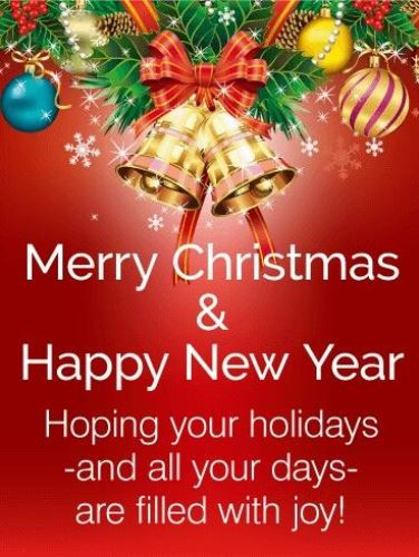 Merry christmas and happy new year 2018 wishes greetings images messages 14 15 i wish you merry christmas and happy new year m4hsunfo