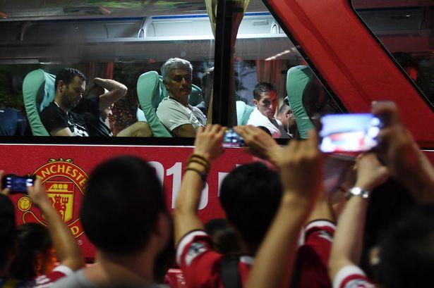 TAG Heuer: primer roce entre Mourinho y el United